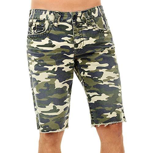 Preisvergleich Produktbild True Religion Herren Ricky Cut Off Shorts,  Territorium Camo,  58