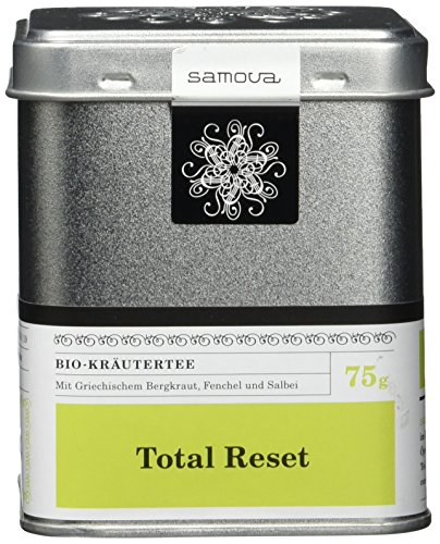 Samova Total Reset - Bio-Kräutermischung 75g, 1er Pack (1 x 75 g)
