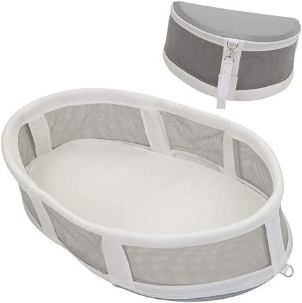 YANGGUANGBAOBEI Travel Crib Luxe Travel Tent Including Sleeping Mat  Nursery Travel Folding Baby Bed Bag Baby Bed