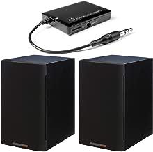 Paradigm Bundle: Shift A2 Powered Bookshelf Speakers (Storm Black Satin - Pair) and BD1 Bluetooth Receiver
