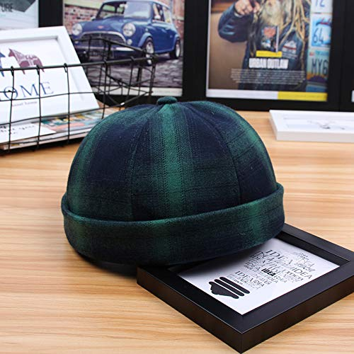 Fashion items Hat spring and autumn wild tide landlord hat college wind melon leather hat rogue sailor hat