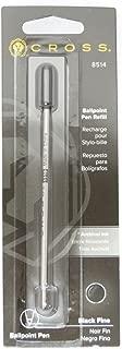 CROSS (クロス) CROSS クロス 純正 油性ボールペン用 替芯 ブラック F 細字 8514 専用 消耗品 リフィール 替え芯 黒