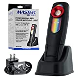 Master Pro - LED Color Matching Light, 500 Lumen - Exact Paint Color Match, Replicates Natural Sunlight for Perfect Match - 3 Color Temperatures, Handheld Rechargeable Work Light, Bodyshop Car Repair