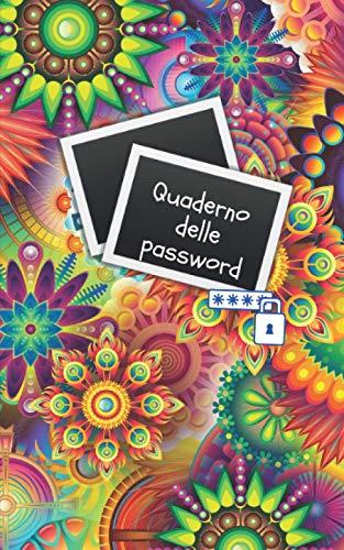 Quderno delle password: Quaderno per organizzare le password e i nomi utenti su internet  104 pagine   Carta di qualità crema   Cortina flessibile (quaderni e notebook)