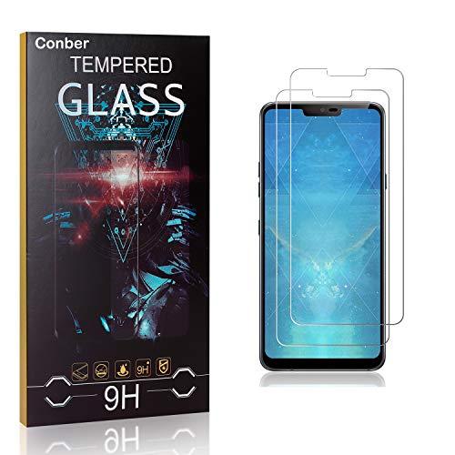 Conber [4 Pièces] Verre Trempé pour Samsung Galaxy J3 2017, Dureté 9H vitre de Protection, Compatible avec Coques, Film Protection Ecran pour Samsung Galaxy J3 2017