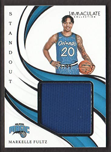 2018-19 Immaculate Collection Basketball Standout JERSEY #SM-MKF Markelle Fultz 29/49