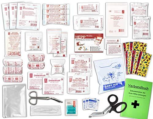 Komplett-Set Erste-Hilfe KITA PLUS DIN/EN 13157 für Betriebe