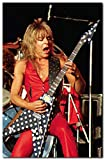 Randy Rhoads Poster 11 x 17 Inches Ready To Frame - Live Concert Photo Posters On The Wall ONLY Manufactures And Ships From The USA Printed On High Quality Poster Photo Paper With Fade Resistant Ink Great For Display In Home, Office, Dorm, Garage, Or...