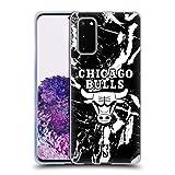 Head Case Designs Ufficiale NBA Marmoreo 2019/20 Chicago Bulls Cover in Morbido Gel Compatibile con Samsung Galaxy S20 / S20 5G