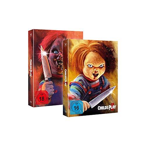 Chucky 2 & 3 - Limited Piece of Art Box Combo (inkl. Booklets) - limitiert auf 1000 Stück [Blu-ray]