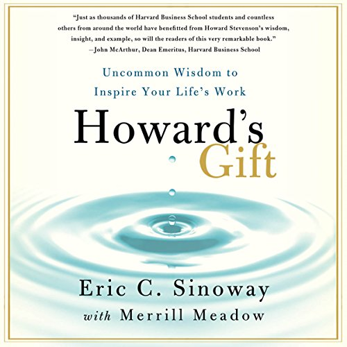 Howard's Gift audiobook cover art