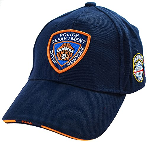 Topt mili Casquette Police New York NY Americaine us USA brodée NYPD Policier