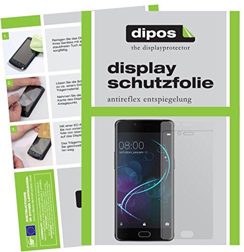 dipos I 2X Schutzfolie matt kompatibel mit Doogee Shoot 1 Folie Bildschirmschutzfolie