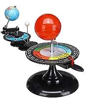 地球儀 レイメイ太陽系地球儀太陽地球月軌道プラネタリウムモデル教育ツール教育天文学デモ用玩具 グローバル (サイズ, 34*28cm),34*28cm