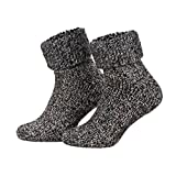 Piarini ABS Stoppersocken Wollsocken Wintersocken Norwegersocken Innenfrottee Damen Herren Jungen...