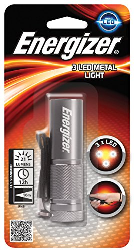 7638900388428 Torch, ENERGIZER Metal Led, silver