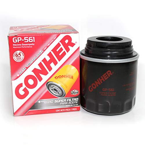 Gonher GP-561 Filtro para Aceite, Tipo Sellado
