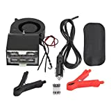 Keenso Portable Car Heater, Fast Heating Defroster Defogger 12V Auto Ceramic Heater Cooling Fan 2-Outlet
