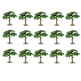 Toyvian Árboles de Pino de árbol de Hoja perenne de árboles de Pino de árbol de árbol de Hoja perenne Artificial para Adornos de jardín de Hadas (Pino pequeño)