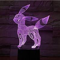 3D LED錯視ランプ 子供用ナイトランプタッチセンサーナイトライトフェスティバルギフトベッドルームナイトライト