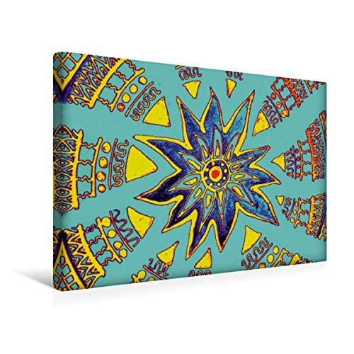 Premium Textil-Leinwand 45 x 30 cm Quer-Format Supernova   Wandbild, HD-Bild auf Keilrahmen, Fertigbild auf hochwertigem Vlies, Leinwanddruck von EigenART