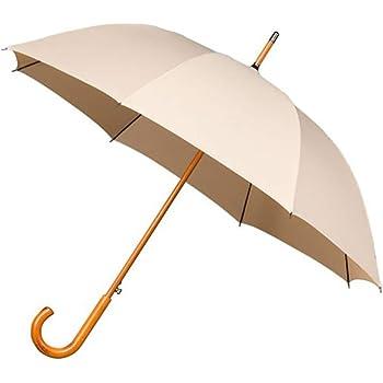 Ouverture Automatique Poign/ée Effet Cuire Protection de 1 M/ètres de Diam/ètre R/ésistant au Vent gr/âce 8 Baleines en Fibre de Verre Falconetti Parapluie Canne pour Femme Haut de Gamme