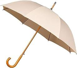Falcone Parapluie Long - Ouverture automatique Résistant au Vent Beige Paraguas clásico, 89 cm