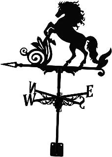 Weathervane, Flying Weathervane Decor for Roofs Farm Scene House Garden Garage,Wind Speed Spinner Direction Indicator