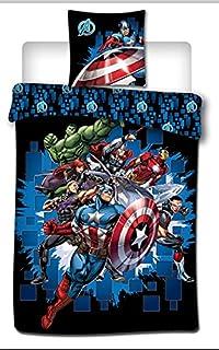 Comics Marvel Avengers beddengoed, 140 x 200 cm, 100% microvezel