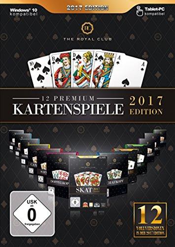The Royal Club 12 Premium Kartenspiele 2017 (PC)