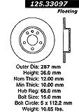 stoptech 125.33097Premium Rotor de freno