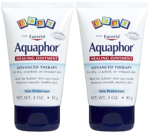 Aquaphor Baby Healing Ointment Tube  3 oz  2 pkPackaging may vary