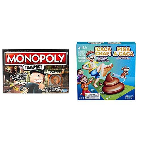 Monopoly- Tramposo (Versión Española) (Hasbro E1871105) + Hasbro Gaming - Juego Infantil...
