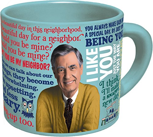 Mister Rogers Heat Changing Mug - Add Coffee or Tea and Mr. Rogers