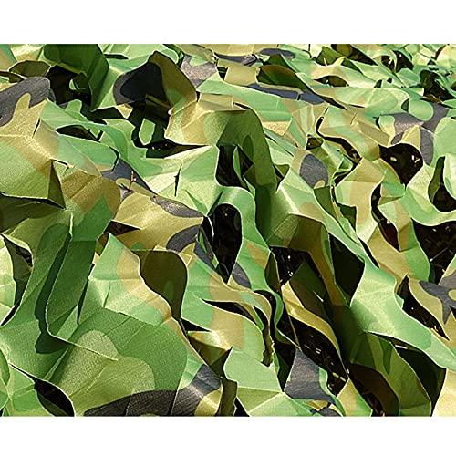 las Sombras del Bosque Woodland Camo Mesh Netting para la Caza El Camping la decoración Los Militares las Redes de Camuflaje Al Aire Libre la Neta Impermeable de la Camuflaje (Size:6×20m/19.7×65.6ft)