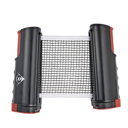 Dunlop - Red Extensible para Tenis de Mesa, para Entrenar, Aficionados y Jugadores de Ocio