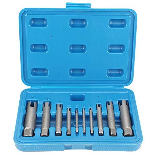 Conjunto de extractores de tornillos, grifos Retire el juego de extractor de grifos de rosca extraíble…