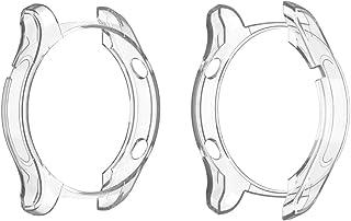 Cassa dell'orologio for Huawei Watch 2 PRO placcatura TPU Half-packageage Shell Protettivo (Nero) (Color : Transparent)