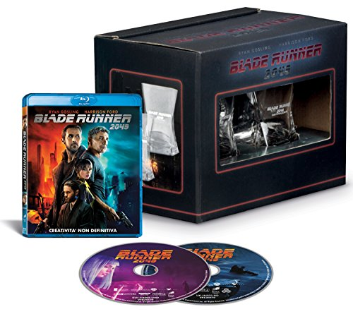 Blade Runner 2049 - Whisky Edition (Blu-Ray + Bonus Disc + 2 Bicchieri da Whisky)