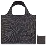LOQI Earth Slate Shopping Reusable Grocery Bag, One Size, Multicolor
