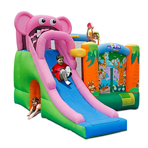 WRJY Kid Baby Toys Children's Large Toys Indoor Home Inflatable Castle Children's Indoor Slide Playground Children's Trampoline Inflatable for Indoor and Outdoor