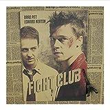 yitiantulong Druck Auf Leinwand Fight Club Film Brad Pitt