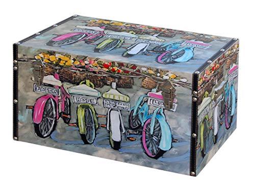 MAKONDO IMPORT-EXPORT BAÚL Madera Bicicletas (Mediano)