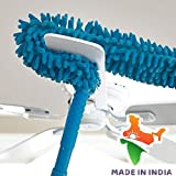 Mobhada Multipurpose Household Feather Microfiber Cleaning Brush Duster Magic Dust Cleaner Fit for car, Home (Multicolour)
