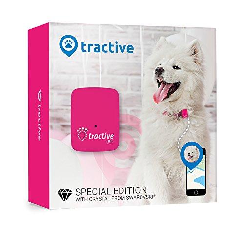Tractive GPS-apparaat hondenGPS-tracker met app. De lichtgewicht en waterdichte hond-GPS-halsband-uitbreiding.