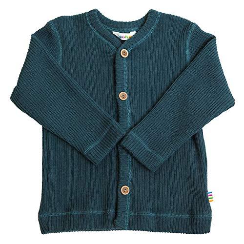 Joha Baby Kinder Jungen Mädchen Strickjacke Merinowolle, Größe:86/92, Farbe:Dark Blue