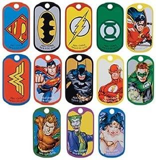DC Comic Super Hero Dog Tags (2 Dozen)