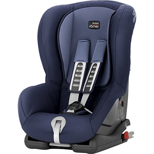 Britax Römer Kindersitz 9 Monate - 4 Jahre I 9 - 18 kg I DUO PLUS Autositz Gruppe 1 I Moonlight Blue