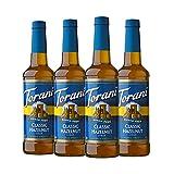 Torani Sugar Free Syrup, Classic Hazelnut, 25.4 Ounces (Pack of 4)