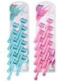 soft care razor Disposable Shaving Bikini Trimmers Safety Blades Razors for Women (Pink) -6 Pieces